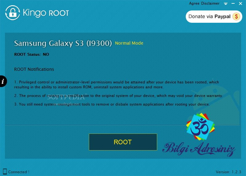 Telefona Root Atma telefona root atma Telefona Root Atma (Tüm Telefonlar İçin) Kingo ROOT 1