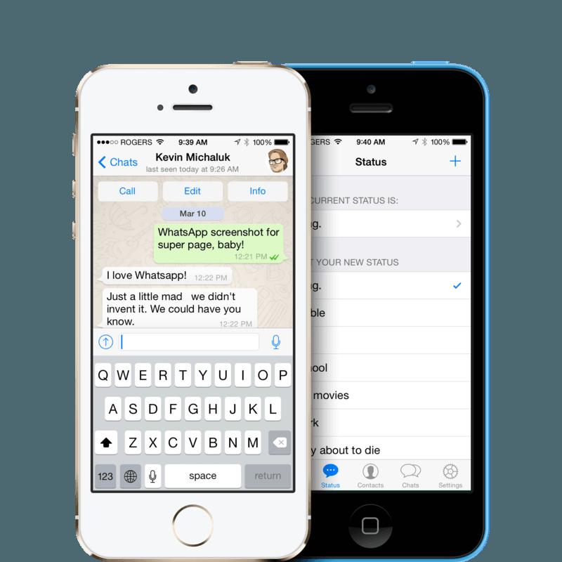 iphone 6 whatsapp klavye sorunu