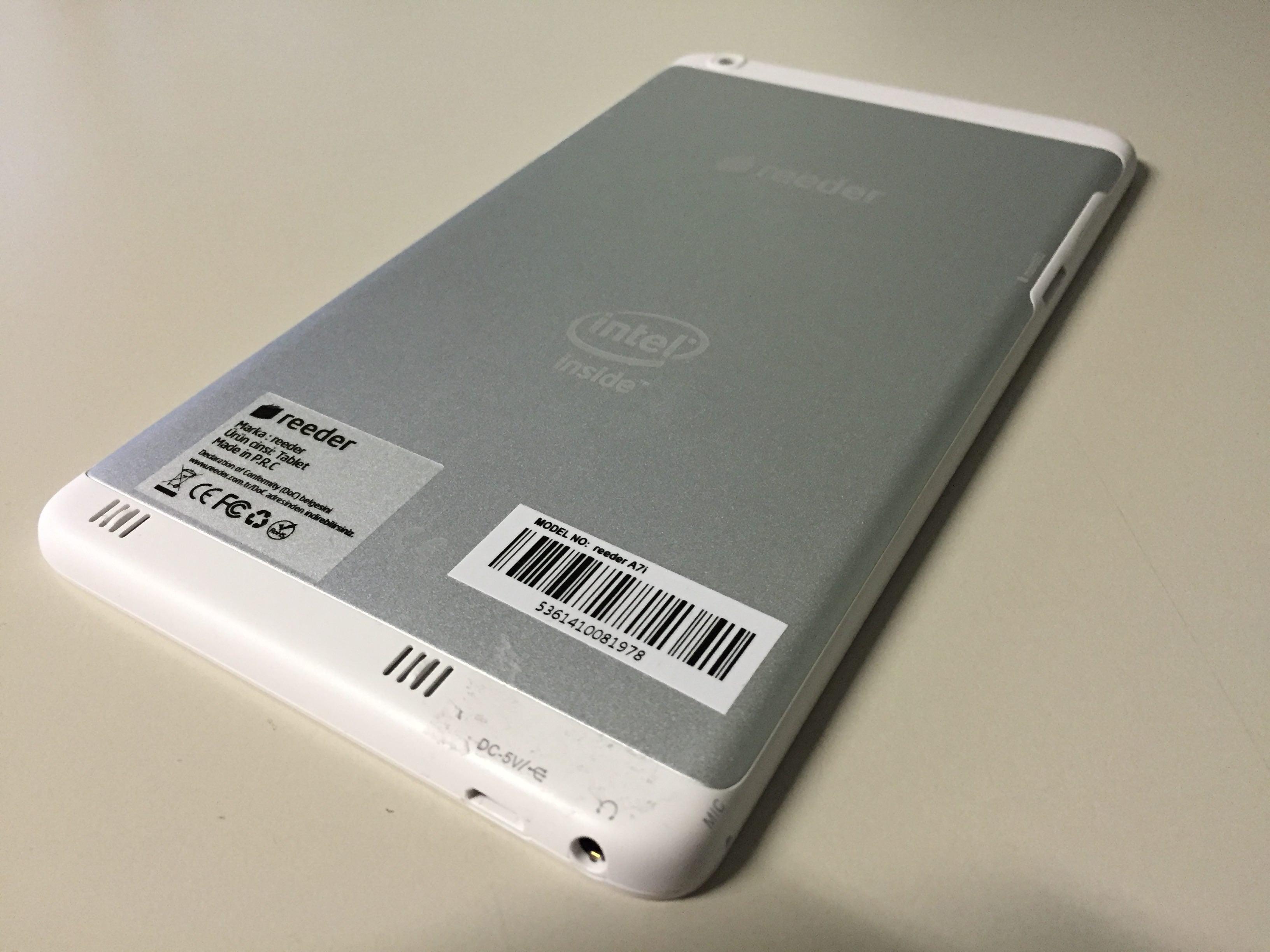 İntel Reeder A7is Metal Telefon Özelliği Açma