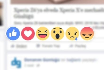 Facebook'da Sosyal Medya Beğenileri Değişti!