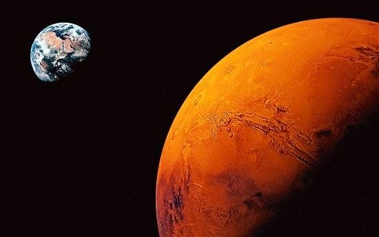 Üç Günde Mars'a Gitmek