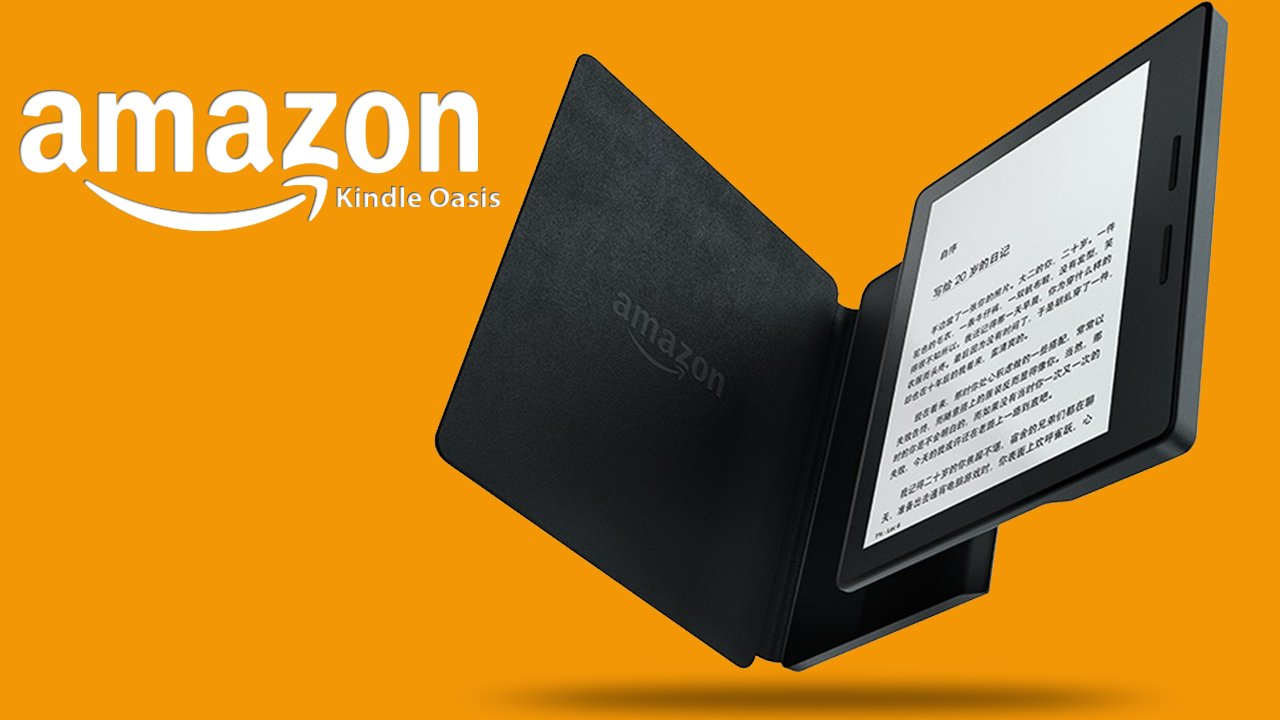 Yeni E-Kitap Okuyucu Amazon Kindle Oasis!