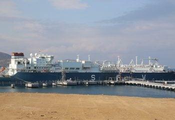 Türkiye'nin İlk Yüzer LNG Depolama Ve Yeniden Gazlaştırma Terminali Açıldı!