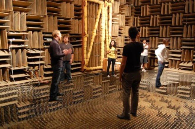Dünyanın En Sessiz Odası dünyanın en sessiz odası Dünyanın En Sessiz Odası icinde 45 dakik bile durulamayan dunyanin en 639164 1813 4 b