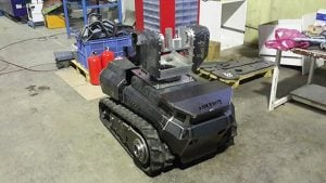 Yerli İnsansız Mini Tank Üretildi