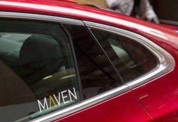 GM Otomobil Paylaşım Servisi Maven Uber'e Rakip Olacak!