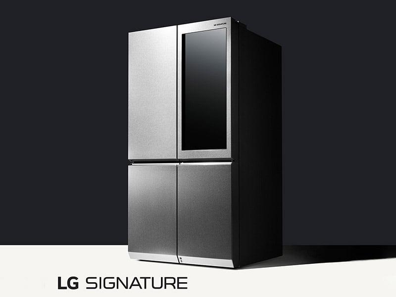 LG_Signature_Refrigerator_CES_2016 lg'nin akıllı buzdolabı windows 10 İle Çalışacak! LG'nin Akıllı Buzdolabı Windows 10 İle Çalışacak! LG Signature Refrigerator CES 2016