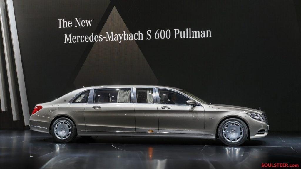 Mercedes-Maybach-S600-Pullman-limousine-at-Geneva-Motor-Show-2015-3 Mercedes-Benz'in Milyon Dolarlık Limuzini Tanıtıldı! Mercedes-Benz'in Milyon Dolarlık Limuzini Tanıtıldı! Mercedes Maybach S600 Pullman limousine at Geneva Motor Show 2015 3 1024x576