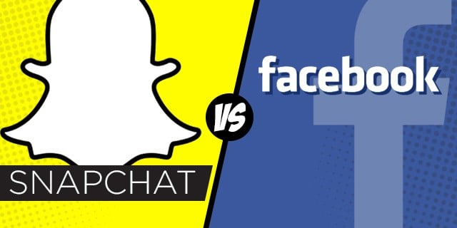 Snapchat-Facebook Facebook'tan Snapchat Girişimi!