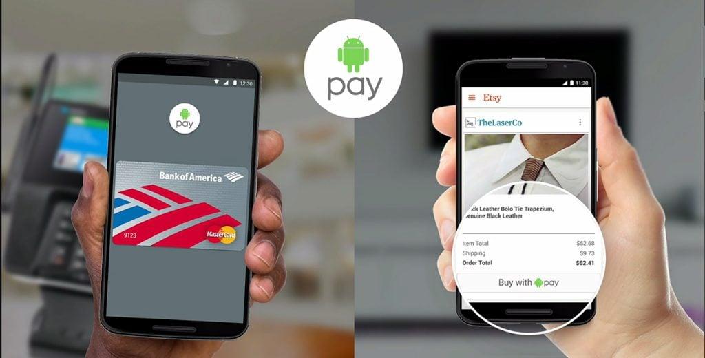 Android Pay Diğer Ülkelerde de Kullanılabilecek!