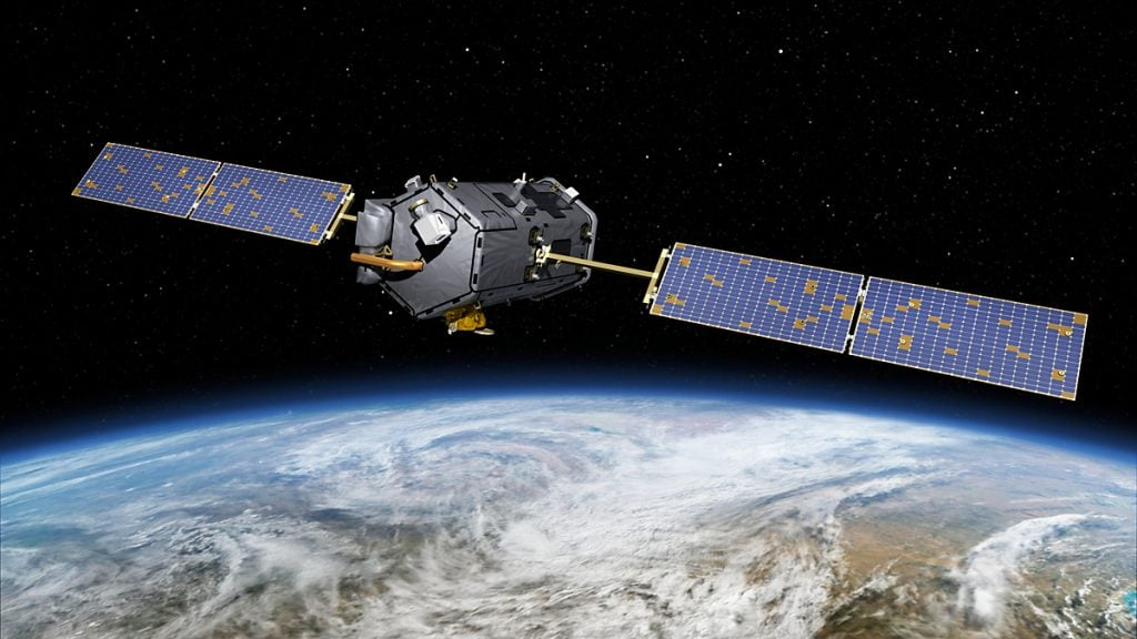 This May 15, 2014, artist concept rendering provided by NASA shows their Orbiting Carbon Observatory (OCO)-2. The OCO-2, managed by NASA's Jet Propulsion Laboratory in Pasadena, Calif., will launch from Vandenberg Air Force Base, Calif., on a Delta II rocket on July 1, 2014. OCO-2 is managed by JPL for NASA's Science Mission Directorate, Washington. Orbital Sciences Corporation, Dulles, Va., built the spacecraft and provides mission operations under JPL's leadership. The California Institute of Technology in Pasadena manages JPL for NASA. (AP Photo/NASA/JPL-Caltech) nasa zor günler mi geçiriyor? NASA Zor Günler Mi Geçiriyor? carbon nasa 1024x576