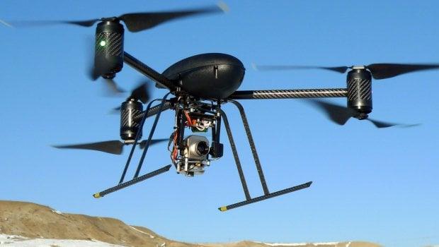 Drone'lar Askeri Alanda Kullanılacak!
