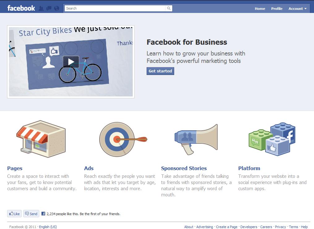 facebook-for-business-i7'Facebook Sayfalar' Müşteri Ve İşletme Dostu Olacak!