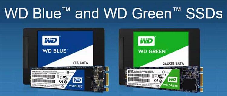 wd-blue-green-ssd WD Firmasından Yepyeni SSD Ve Taşınabilir Disk Modelleri!