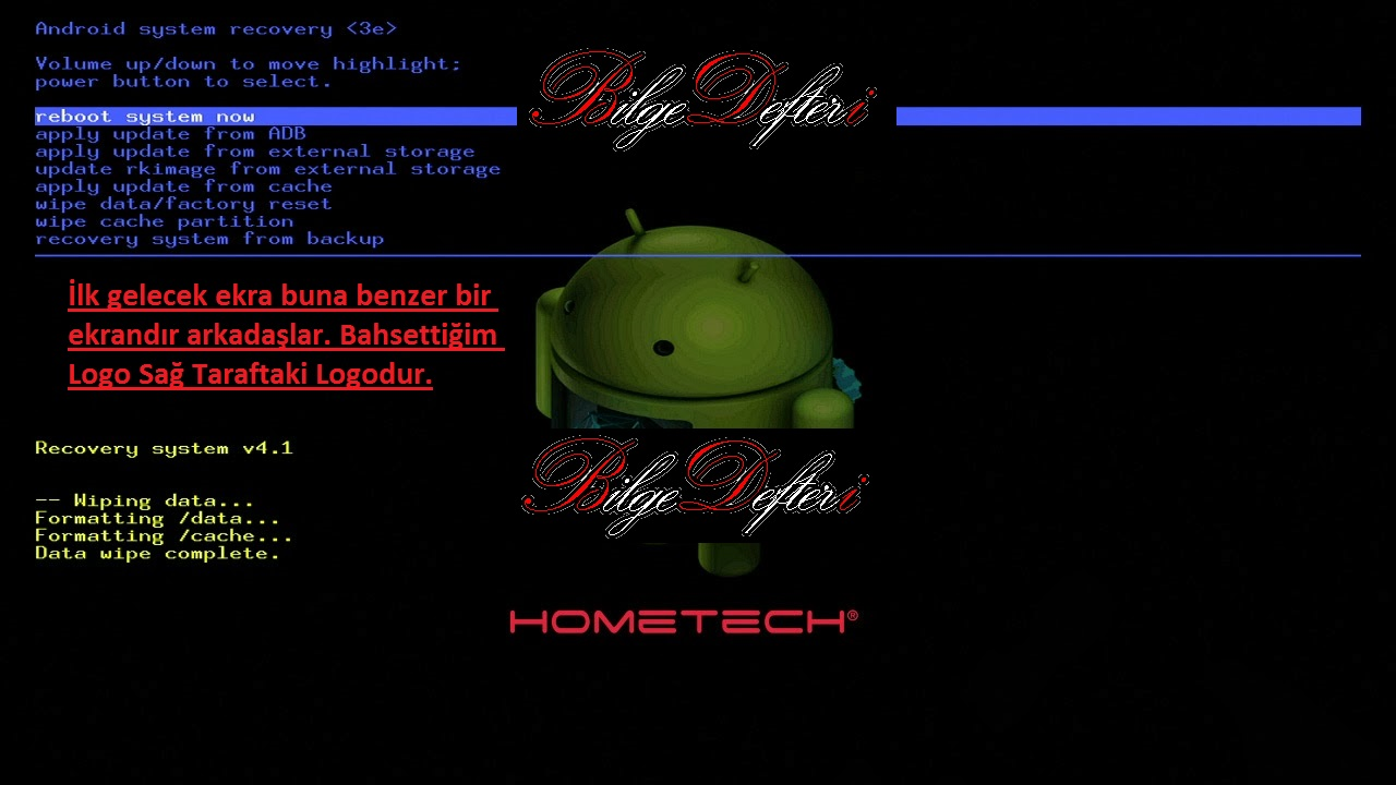Tablete Basit Format Atma Resim 1 tablete basit format atma şekli Tablete Basit Format Atma Şekli resim 1