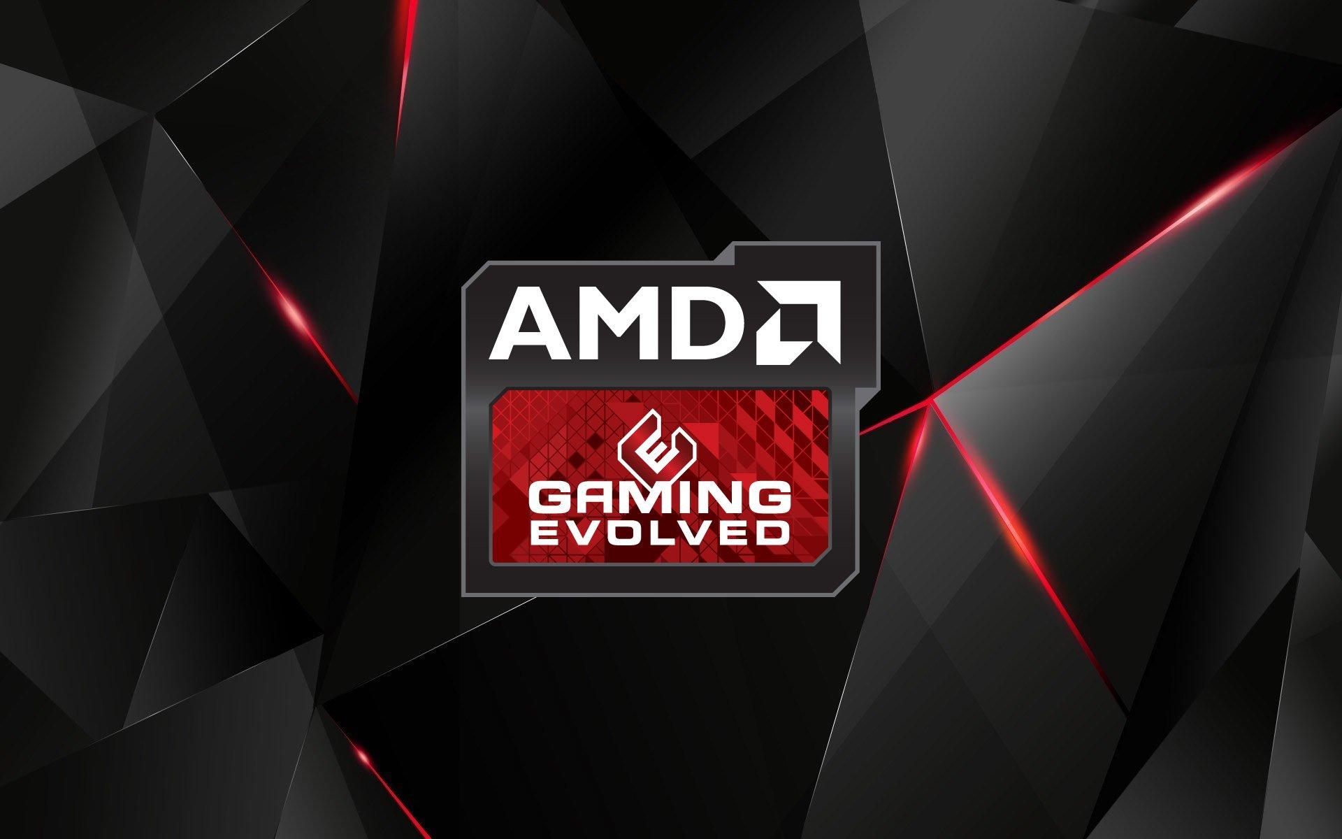 AMD'den Grafik Kartı Geliyor AMD AMD'den Grafik Kartı Geliyor AMD Gaming Evolved HD Logo Wallpaper