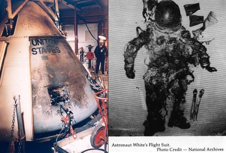 NASA'dan Dünya Yörüngesine Ayar Geliyor! NASA'dan Dünya Yörüngesine Ayar Geliyor! apollo 1 fire