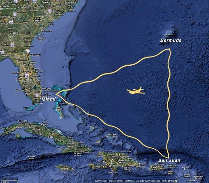 Bermuda Şeytan Üçgeni Çözülmüş Olabilir Bermuda Şeytan Üçgeni Çözülmüş Olabilir! bermuda