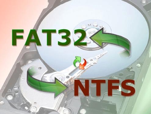 Fat32'yi Ntfs'ye Veri Kaybı Olmadan Dönüştürme