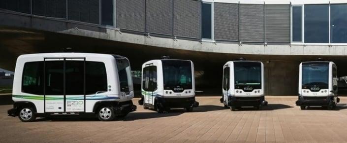 Hollanda Sürücüsüz Otobüslere Emanet!