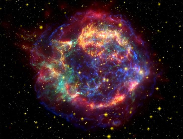 Bilim Adamları Bir İlki Görüntülediler Bilim Adamları Bir İlki Görüntülediler! supernova