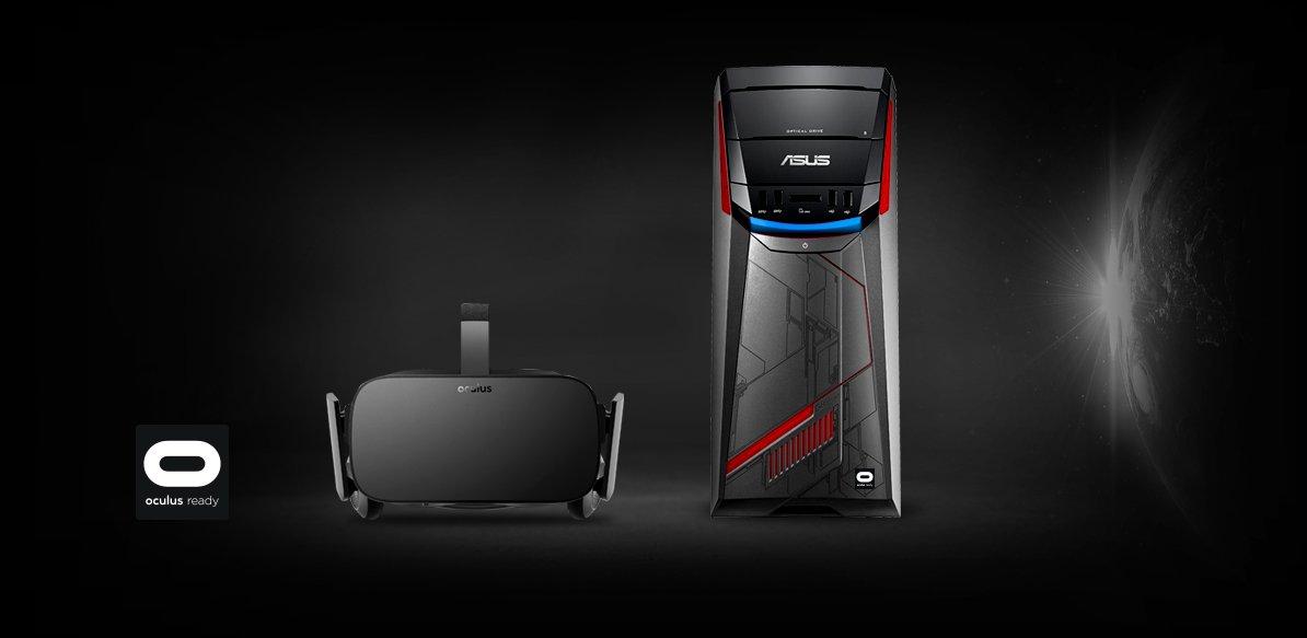 Asus Yeni Bilgisayarını Tanıttı Asus Yeni Bilgisayarını Tanıttı G11 and Oculus