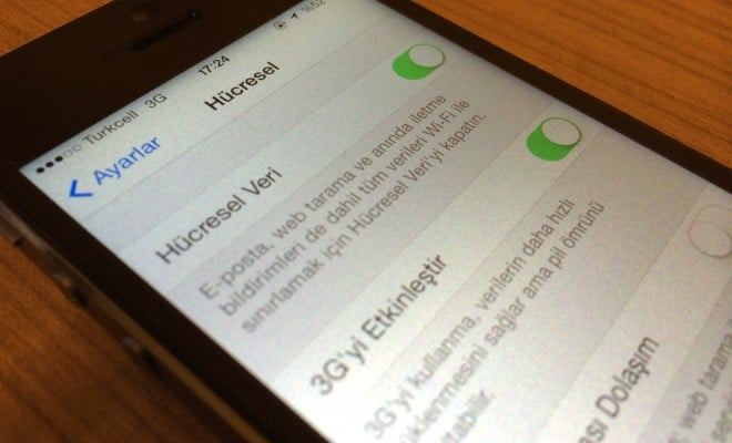 iPhone'da İnternet Kullanımını Nasıl Azaltabilirsiniz?