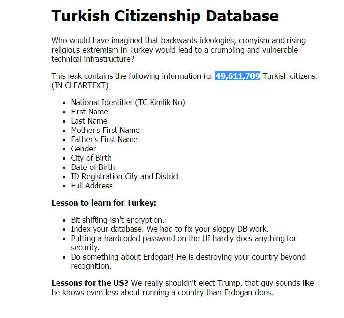 Türk Vatandaşlarının Kimlik Bilgileri Çalındı Türk Vatandaşlarının Kimlik Bilgileri Çalındı Türk Vatandaşlarının Kimlik Bilgileri Çalındı kimlik hack