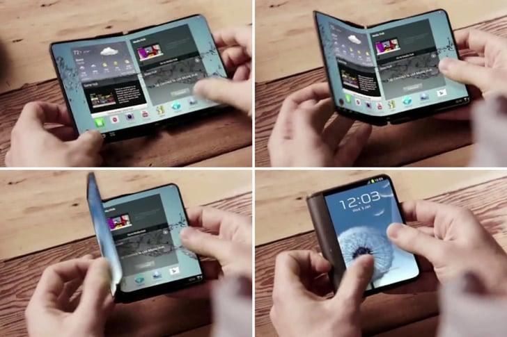 samsung'dan bir Çıkış daha Samsung'dan Bir Çıkış Daha! katlanabilir