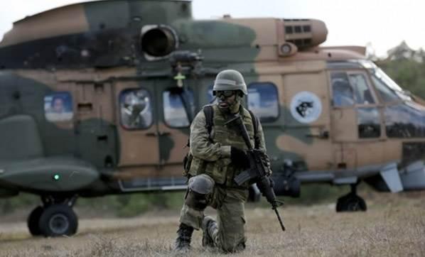 Askeri Üs Bölgesine Saldırı 2 Şehit