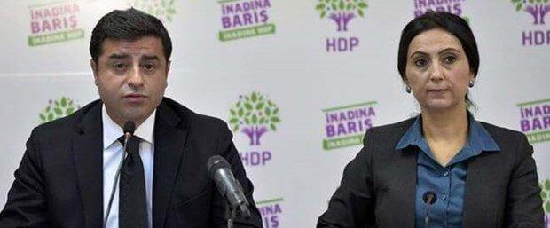 İddianameler Kabul Edildi: Demirtaş'a 142, Yüksekdağ'a 83 yıl hapis istemi hdpppp