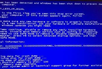 Mavi Ekran Hatası Nedenleri ve Çözümleri  -2-