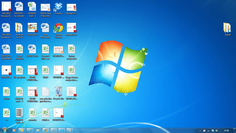 Masaüstündeki dosyaları açmama sorunu Masaüstündeki dosyaları açmama sorunu sozluk yazarlarin masaustu ekran goruntuleri 377441