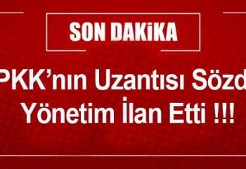 PKK/PYD Sözde Yönetim İlan Etti