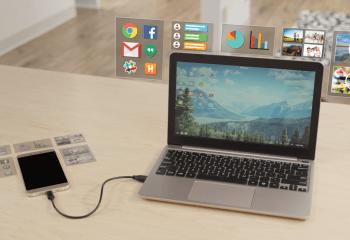 Mirabook Nedir? Akıllı Telefon Nasıl Laptopa Dönüştürülür?