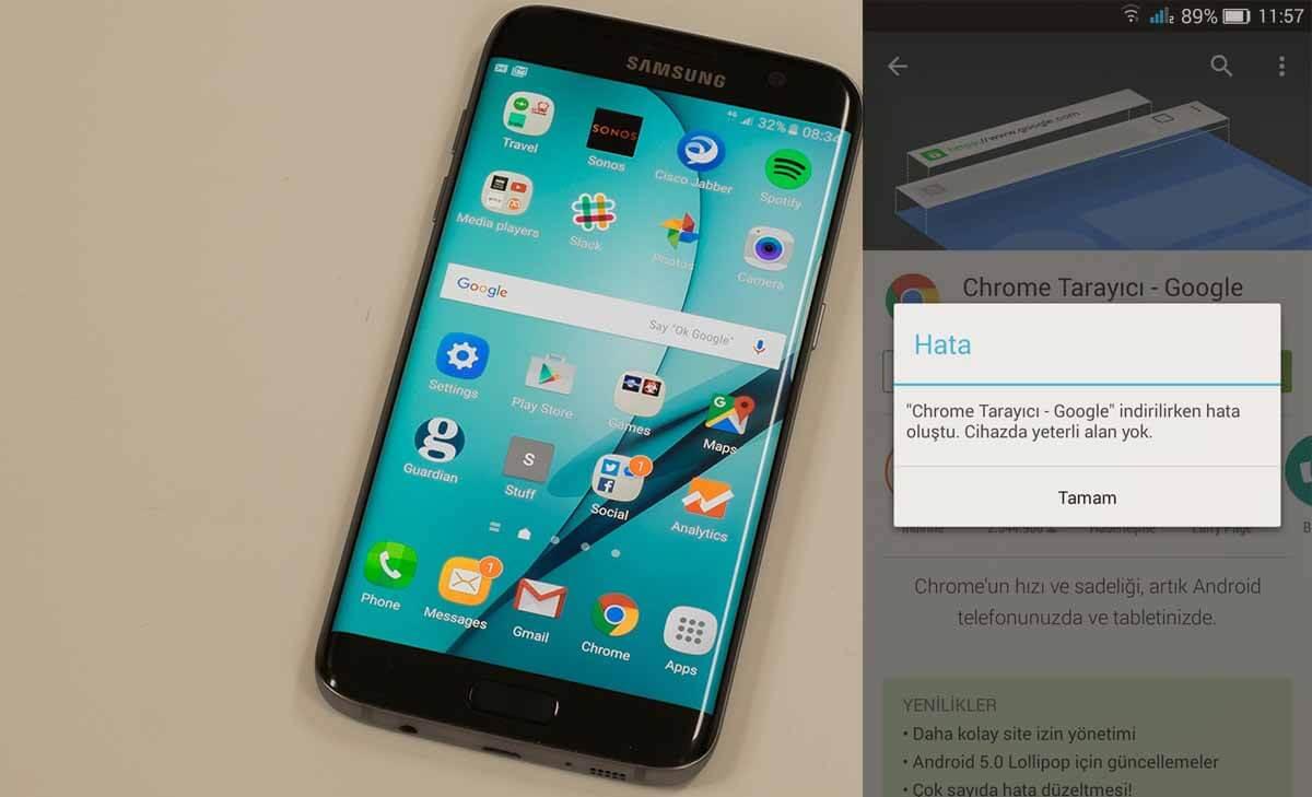 Android Depolama Alanı Tükeniyor Yetersiz Depolama Alanı Sorunu Akıllı Telefonlarda Yetersiz Depolama Alanı Sorunu depolama alani tukeniyor