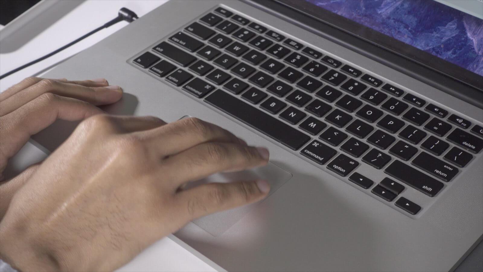Mac Touchpad Ayarları Macbook Trackpad İncelemesi Macbook Trackpad İncelemesi macbook ekran kaydirma
