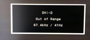Out Of Range Monitör Hatası Çözümü