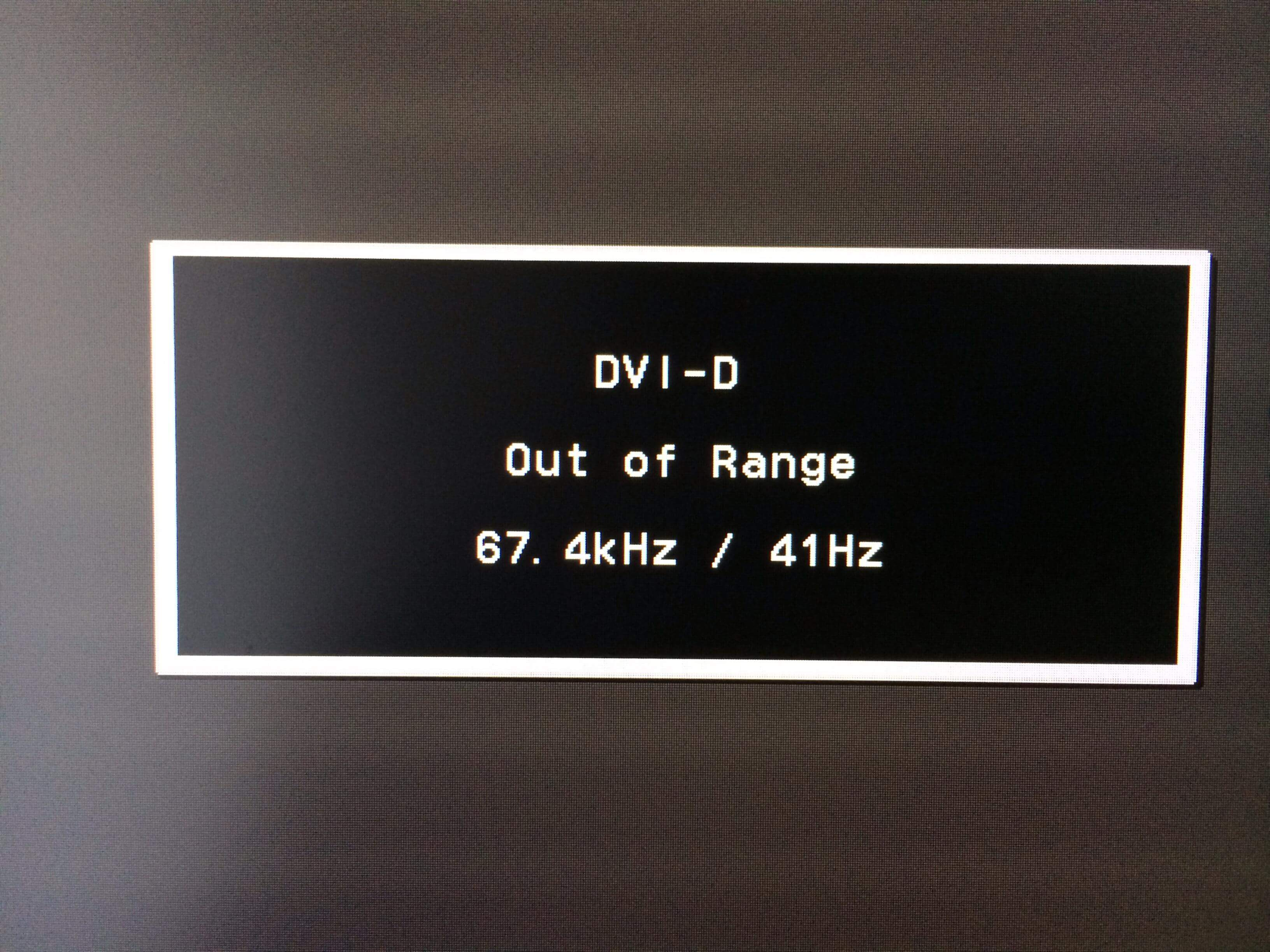 Out Of Range Ne Demek Out Of Range Monitör Hatası Çözümü Out Of Range Monitör Hatası Çözümü out of range