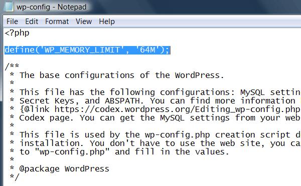 wp-config.php düzenleme wp-config.php Hatasının Çözüm Yolu