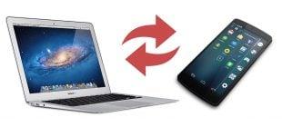 Android 'den Mac'e Dosya Aktarımı