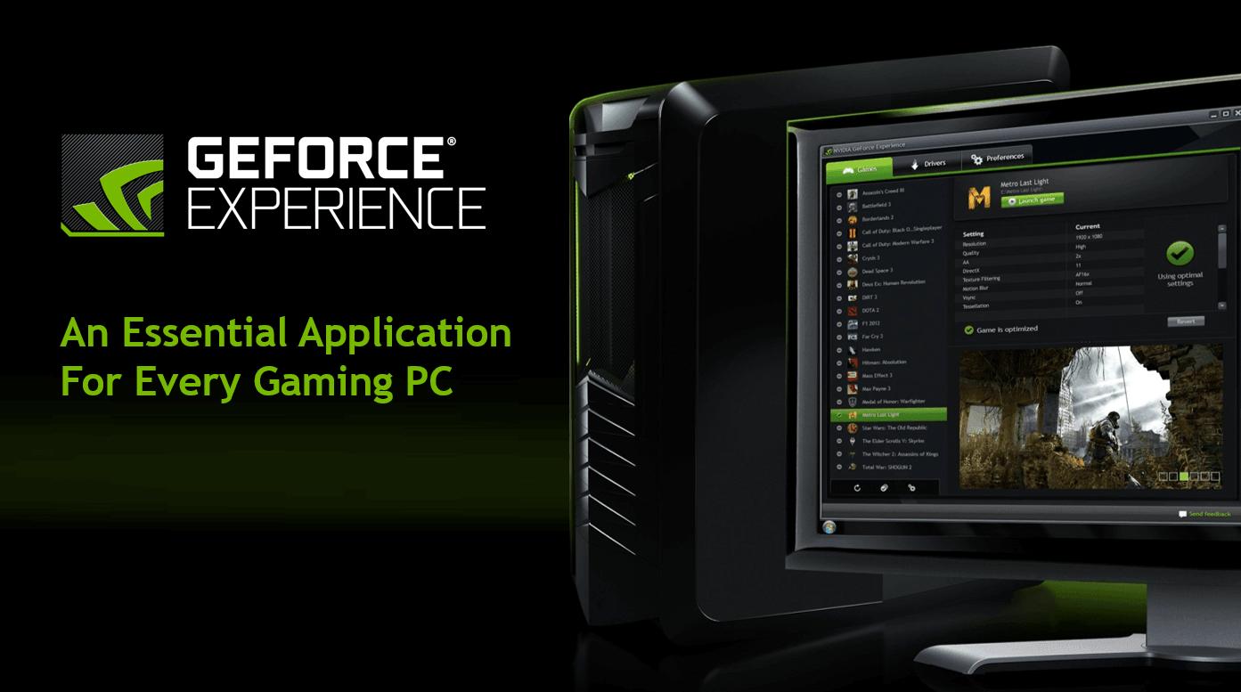 GeForce Experience Sorunu