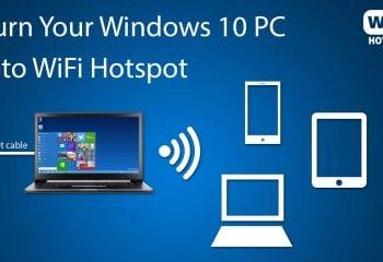 Windows 10 WİFİ HotSpot Sorunu