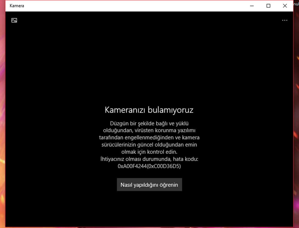 Windows kamerayı bulamıyor Windows kamerayı bulamıyor Windows Kamerayı Bulamıyor Sorunu windows kamerayi bulamiyor