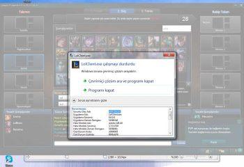 Windows Appcrash Hatasına Çözüm