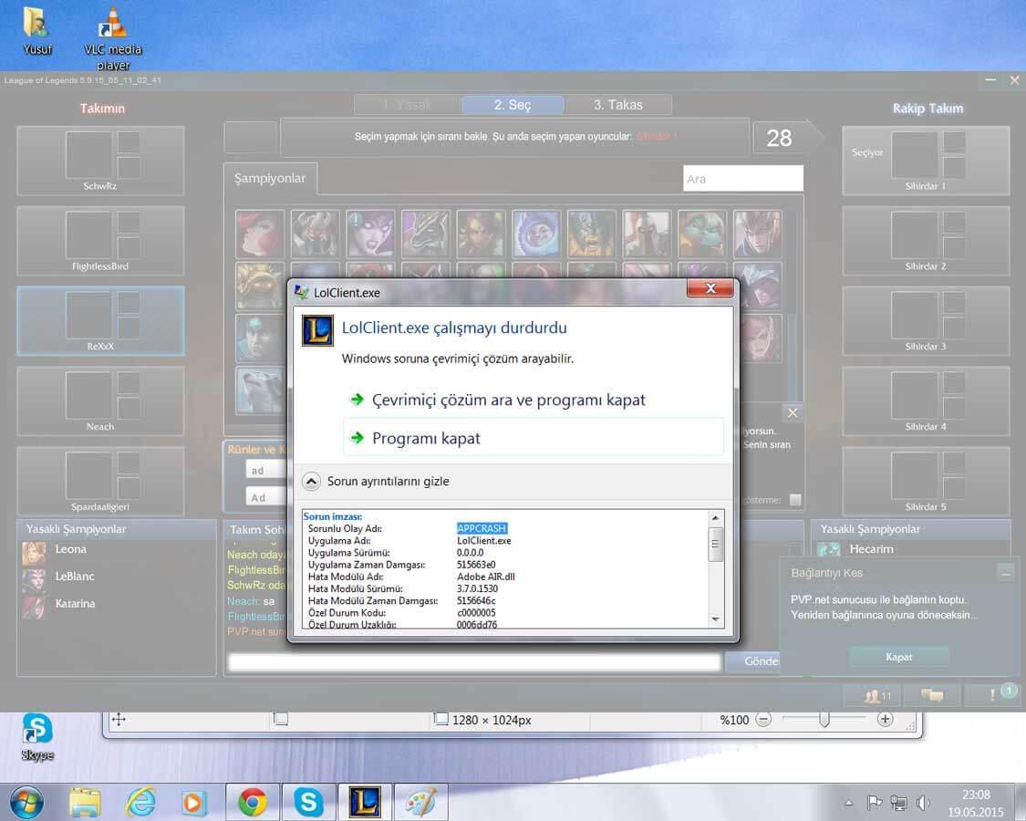 Appcrash hatası Appcrash Hatası Windows Appcrash Hatasına Çözüm uyumsuzluk hatasi