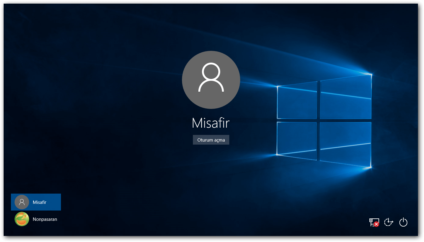 misafir giriş yetkileri Windows 10 Misafir Girişi Windows 10 Misafir Girişi Yetki Sorunları misafir girisi yetkileri