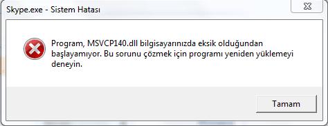 msvcp140d.dll hatası msvcp140d.dll hatası Bilgisayarda msvcp140d.dll Hatası İçin Çözüm Yolu msvcp140d