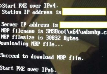 Bilgisayarda Start PXE Over IPv4 Hatasının Çözümü