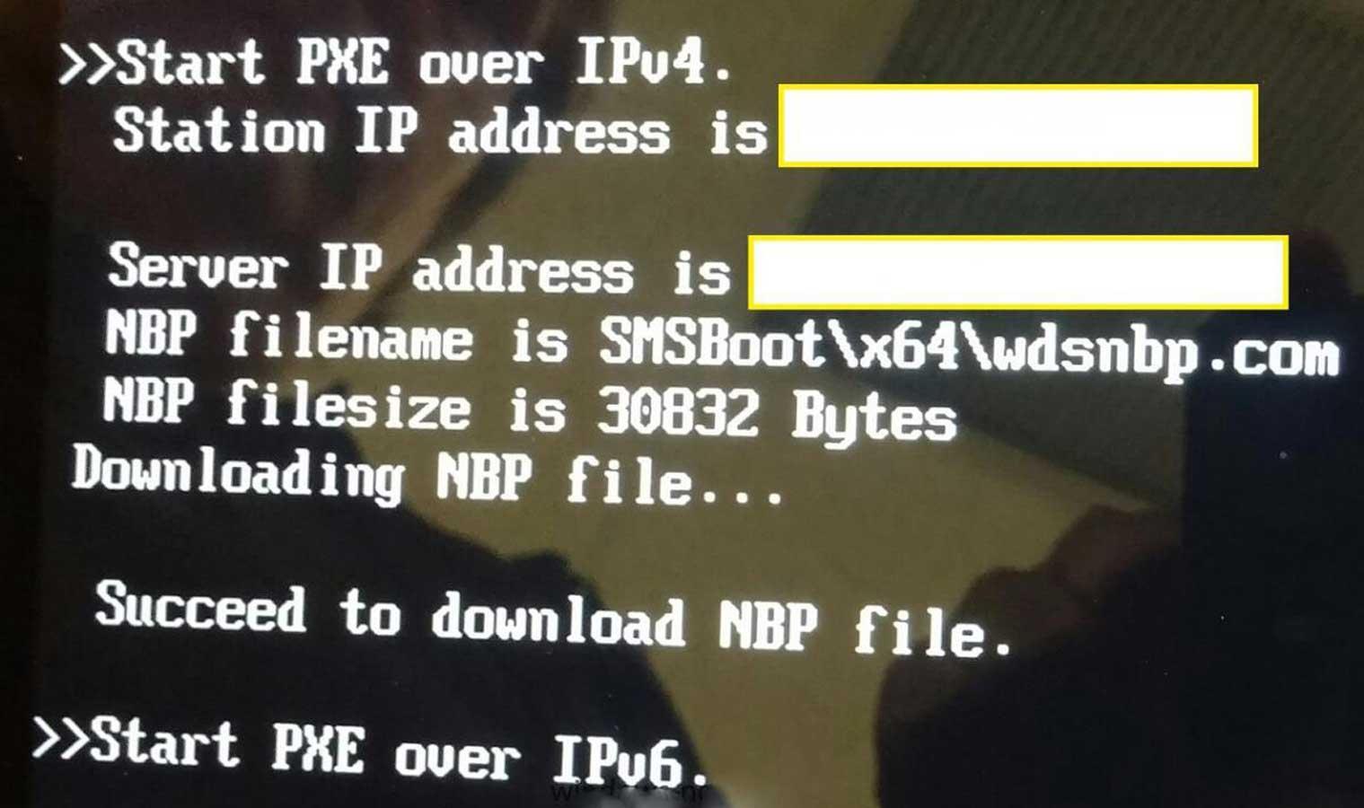 Start PXE Over Start PXE Over IPv4 Bilgisayarda Start PXE Over IPv4 Hatasının Çözümü start pxe over hatasi